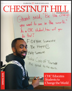 Chestnut Hill College Spring 2015 magazine