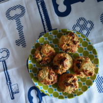 Cranberry-orange mini scones