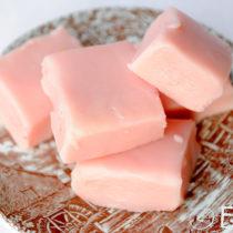 Pink Beetroot Fudge | EvinOK