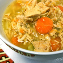 Chicken Noodle Soup | EvinOK