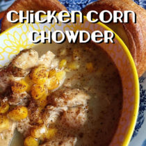 Chicken Corn Chowder Recipe | EvinOK.com