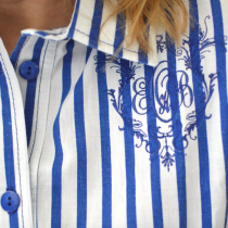 My Monogrammed Blouse
