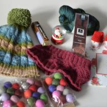 Knitmas 2015 gift from my upstream elf on EvinOK.com