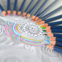 A Few Minutes with Coloring Books to Destress Your Day