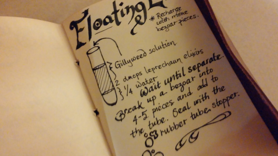How to make your own potion