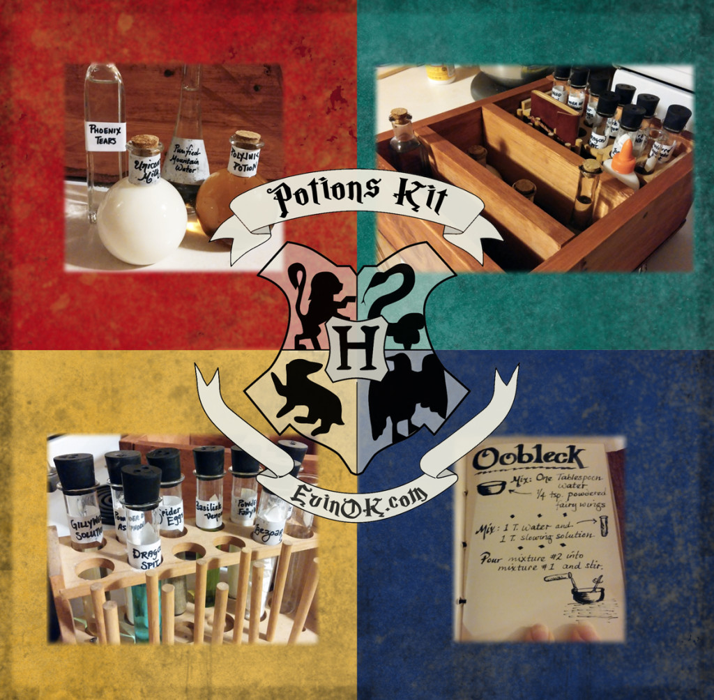 Make Your Own Harry Potter Potions Kit evinok