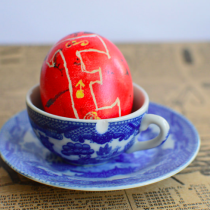 Traditional Pysanka, Ukranian Easter Egg Dyeing on EvinOK.com