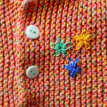 Embellished BSJ (Baby Surprise Jacket)