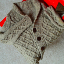 Gramps Cardigan by Kate Oates from Tot Toppers