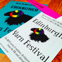 Edinburgh Yarn Festival 2016 and my new yarn | EvinOK.com