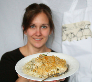 Herb Chicken Crumble | EvinOK.com
