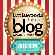 Vote for EvinOK in Littlewoods Ireland Blog Awards 2016