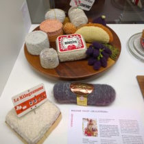 Madame Tricot's book Delicatessen 3D knits on display at Sibler Munsterhof in Zurich | EvinOK.com