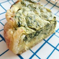 Spinach-Artichoke Dip Quiche | EvinOK.com