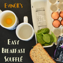 Easy Breakfast Soufflé | EvinOK