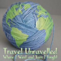 Travel Unravelled: Where I Went and Yarn I Bought | EvinOK
