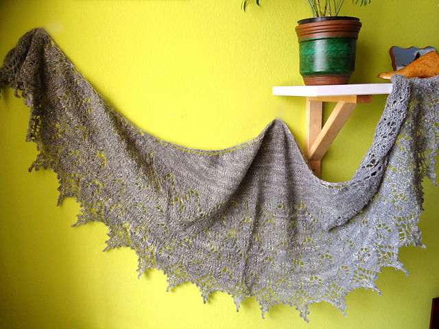Sweet Dreams by Boo Knits, knit by KayStir with lace weight hands-on   EvinOK