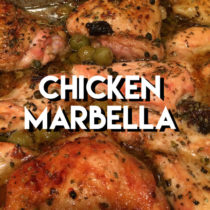 Chicken Marbella from The Silver Palette Cookbook | EvinOK