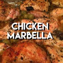 Chicken Marbella from The Silver Palette Cookbook | EvinOK