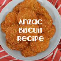 Anzac Biscuit Recipe | EvinOK