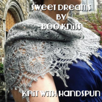 Sweet Dreams by Book Knits, knit with handspun | EvinOK.com