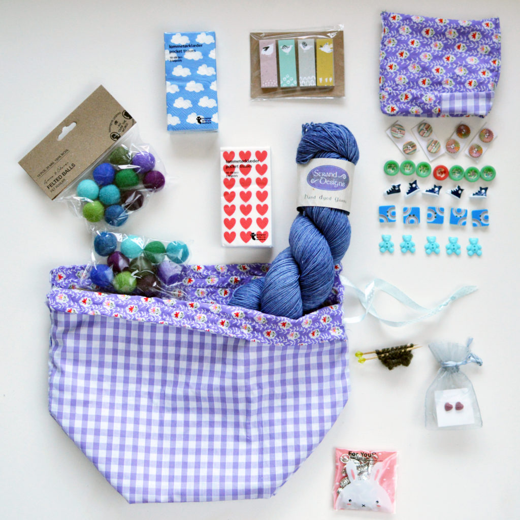 Knitter Care Package for Marseille | EvinOK.com