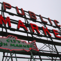 Pike Place Market, Seattle | EvinOK.com