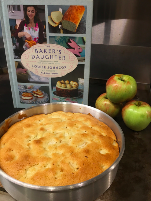 Making Apple Cake from The Baker's Daughter | Evinok.com
