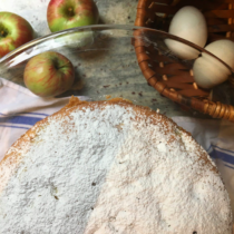 Baking the Apple Cake from The Baker's Daughter Cookbook | EvinOK.com