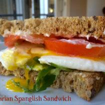 Vegetarian Spanglish Sandwich | EvinOK