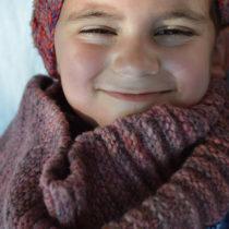 kool-aid dyed wool scarf | EvinOK.com