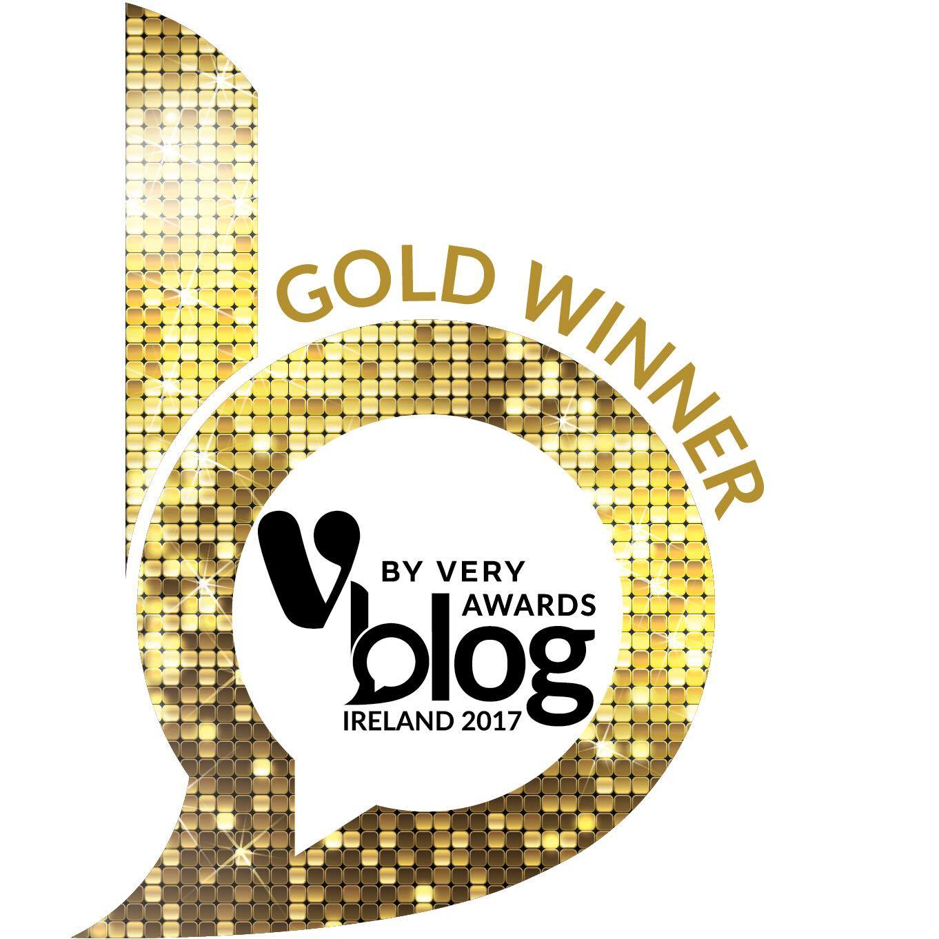 2017 Blog Awards Ireland Winner