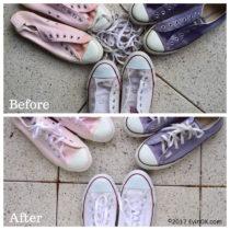 How I Clean White Converse Sneakers | EvinOK