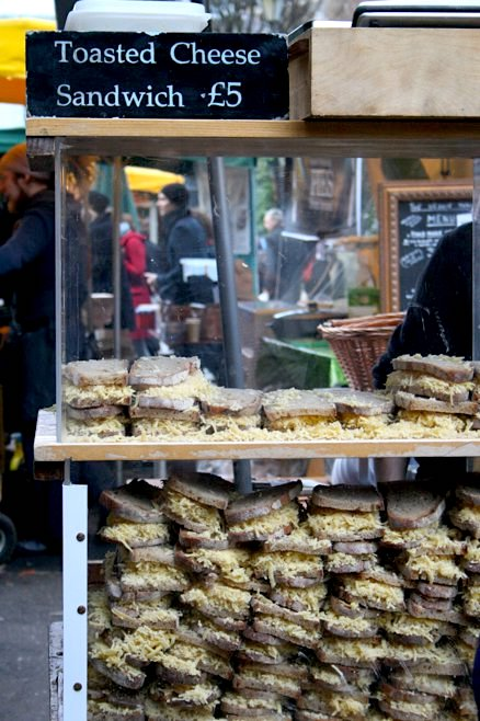 Borough Market Grilled Cheese Sandwich Recipe | EvinOK