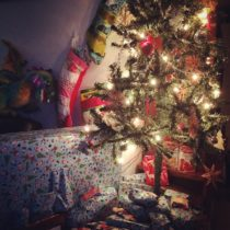 Under the Christmas Tree at EvinOK