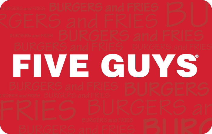 5 Creative Gift Ideas, Tips & a Bunny with a Moustache - Five Guys Gift Card