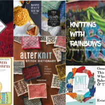 Great Knitting Books This Year and Where to Buy Bake Knit Sew & These Islands | EvinOK