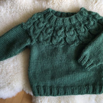 Owlet Sweater by Kate Davies knit by Nadia of Cottage Notebook | EvinOK.com