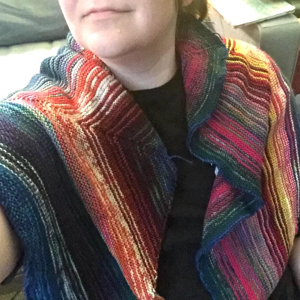 ADVENTurous KAL Progress and FO photos | Margot FO