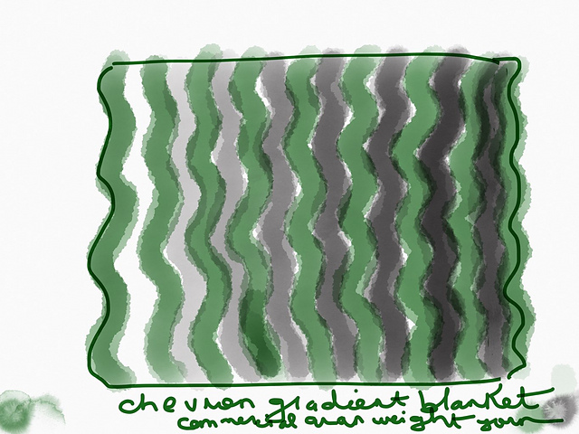 Ballyhoura Baby Blanket Free Knitting Pattern | EvinOK