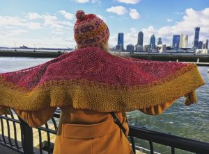City Stitchette - Hudson River Shawl