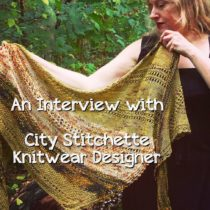An Interview with Independent Knitwear Designer City Stitchette on EvinOK