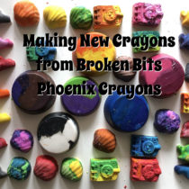 Making New Crayons from Broken Bits – Phoenix Crayons | EvinOK
