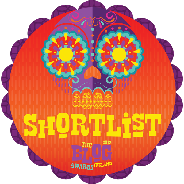 2017 Blog Awards Ireland 2018 Shortlisted
