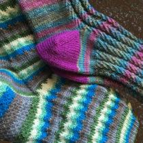 Knitting Geek Socks and Nine-to-Five Socks | EvinOK