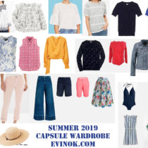 Capsule Wardrobes for Myself and My Two Kids – Summer 2019 | EvinOK
