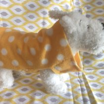 DIY Fleece dog jacket | EvinOK