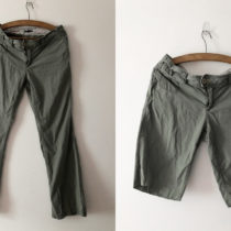 Turning pants into cutoffs | EvinOK