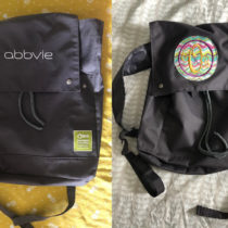 Updating a Conference Backpack with a Monogram | EvinOK