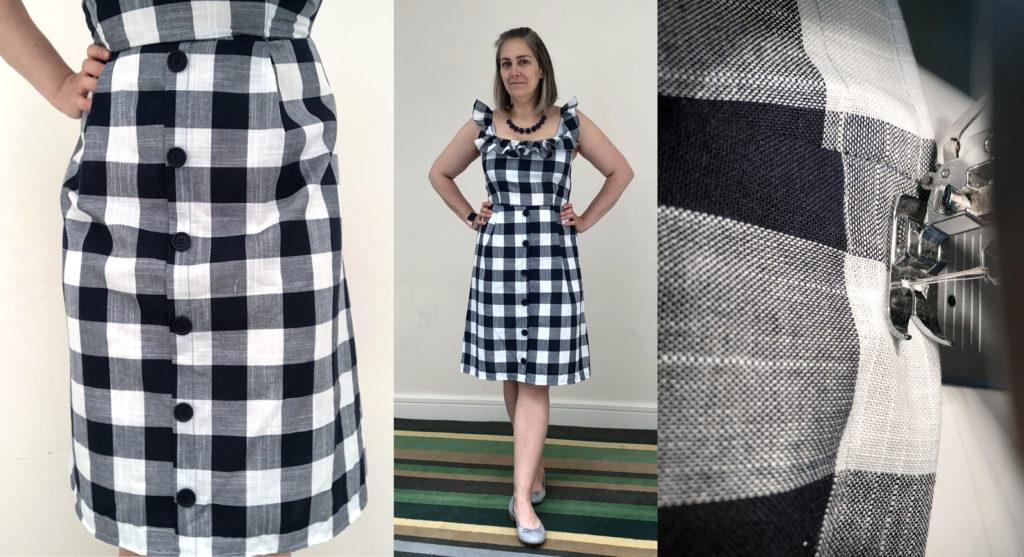 Hemming a Dress | EvinOK